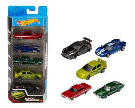 Assortment/ Mix  - Fast & The Furious 5-pack 2021 various - 1:64 - Hotwheels - GWW93 - hwmvGWW93 | Toms Modelautos