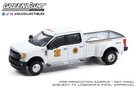 Ford  - F-350 2017 white - 1:64 - GreenLight - 46080D - gl46080D | Toms Modelautos
