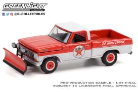 Ford  - F-350 1968 red/white - 1:64 - GreenLight - 35200A - gl35200A | Toms Modelautos