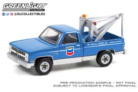 Chevrolet  - C20 1983 blue - 1:64 - GreenLight - 35200D - gl35200D | Toms Modelautos