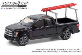 Chevrolet  - F-150 2017 black - 1:64 - GreenLight - 35200F - gl35200F | Toms Modelautos
