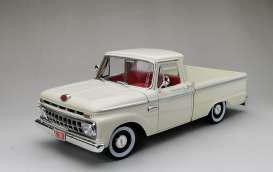Ford  - F-100 pick-up 1965 white - 1:18 - SunStar - 1302 - sun1302 | Toms Modelautos