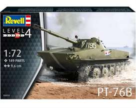Military Vehicles  - PT-76B  - 1:72 - Revell - Germany - 03314 - revell03314 | Toms Modelautos