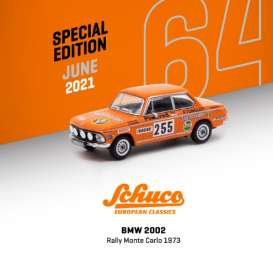 BMW  - 2002 orange - 1:64 - Tarmac - T64S-007-JAG - TC-T64S007JAG | Toms Modelautos