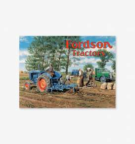 Tac Signs  - Tractor, Fordson blue/various - Tac Signs - BK22203 - tacBK22203 | Toms Modelautos
