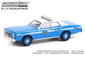 Dodge  - Monaco 1978 blue - 1:64 - GreenLight - 30292 - gl30292 | Toms Modelautos