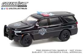 Chevrolet  - Tahoe 2021 black - 1:64 - GreenLight - 30293 - gl30293 | Toms Modelautos
