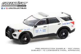 Ford  - Interceptor 2020 white - 1:64 - GreenLight - 30295 - gl30295 | Toms Modelautos