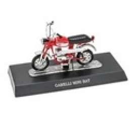 Bikes  - Garelli Mini Bat red - 1:18 - Magazine Models - X8FALA0031 - magmot031 | Toms Modelautos