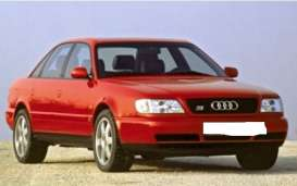 Audi  - A6 1997 red - 1:43 - Maxichamps - 940017100 - mc940017100 | Toms Modelautos