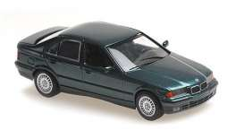 BMW  - 3-series 1992 green metallic - 1:43 - Maxichamps - 940023300 - mc940023300 | Toms Modelautos