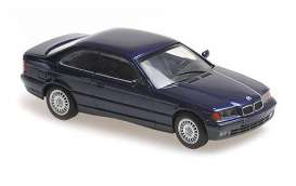 BMW  - 3-series 1992 blue metallic - 1:43 - Maxichamps - 940023321 - mc940023321 | Toms Modelautos
