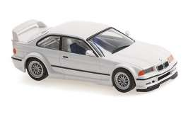 BMW  - M3 GTR 1993 white - 1:43 - Maxichamps - 940023381 - mc940023381 | Toms Modelautos