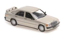 Mercedes Benz  - 190  E 2,3-16 1984 gold metallic - 1:43 - Maxichamps - 940035600 - mc940035600 | Toms Modelautos