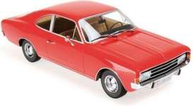 Opel  - Rekord C  1966 red - 1:43 - Maxichamps - 940046101 - mc940046101 | Toms Modelautos
