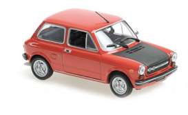 Autobianchi  - A112 Abarth 1974 red - 1:43 - Maxichamps - 940121171 - mc940121171 | Toms Modelautos