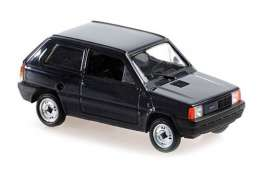 Fiat  - Panda 1980 blue - 1:43 - Maxichamps - 940121400 - mc940121400 | Toms Modelautos