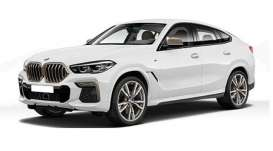 BMW  - x6 2020 white - 1:87 - Minichamps - 870020520 - mc870020520 | Toms Modelautos