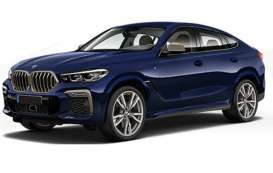BMW  - x6 2020 blue metallic - 1:87 - Minichamps - 870020521 - mc870020521 | Toms Modelautos