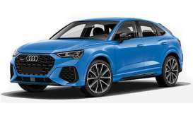 Audi  - RS Q3 Sportback 2019 blue - 1:87 - Minichamps - 870010104 - mc870010104 | Toms Modelautos