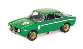 Alfa Romeo  - 1300 Junior 1971 green - 1:18 - Minichamps - 155120022 - mc155120022 | Toms Modelautos