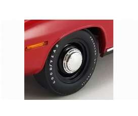 Rims & tires Wheels & tires - black/crome - 1:18 - Acme Diecast - 1806123W - acme1806123W | Toms Modelautos