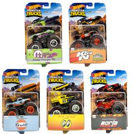 Assortment/ Mix  - Monster Trucks 2021 various - 1:64 - Hotwheels - GXG96 - hwmvGXG96 | Toms Modelautos