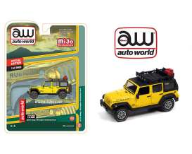 Jeep  - Wrangler Unlimited 4x4 1962 yellow - 1:64 - Auto World - CP7752 - AWCP7752 | Toms Modelautos