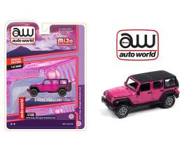 Jeep  - Wrangler Unlimited 4x4 1962 pink - 1:64 - Auto World - CP7753 - AWCP7753 | Toms Modelautos