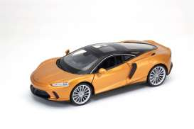 McLaren  - Gt 2020 gold - 1:24 - Welly - 24105 - welly24105gd | Toms Modelautos