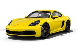 Porsche  - 718 Cayman GTS (982) 2020 yellow - 1:43 - Minichamps - 410069001 - mc410069001 | Toms Modelautos