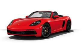 Porsche  - 718 Cayman GTS (982) 2020 red - 1:43 - Minichamps - 410069102 - mc410069102 | Toms Modelautos