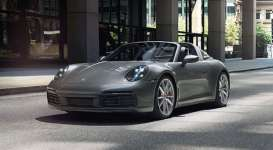 Porsche  - 911 (992) Targa 2020 grey metallic - 1:43 - Minichamps - 410069561 - mc410069561 | Toms Modelautos
