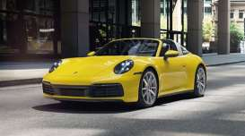 Porsche  - 911 (992) Targa 2020 yellow - 1:43 - Minichamps - 410069562 - mc410069562 | Toms Modelautos