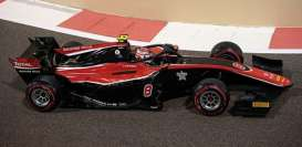 Dallara  - F2 2018 black/red - 1:43 - Minichamps - 410180208 - mc410180208 | Toms Modelautos