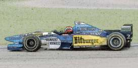 Benetton Renault - B195 1995 blue/yellow/white - 1:43 - Minichamps - 417950802 - mc417950802 | Toms Modelautos