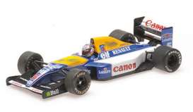Williams Renault - FW14 1992 blue/yellow/white - 1:43 - Minichamps - 436926605 - mc436926605 | Toms Modelautos