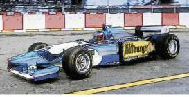 Benetton Renault - B195 1995 blue/white/yellow - 1:43 - Minichamps - 517950101 - mc517950101 | Toms Modelautos