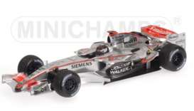 McLaren Mercedes Benz - MP4/21 2006 silver - 1:18 - Minichamps - 53061803 - mc53061803 | Toms Modelautos