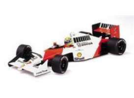 McLaren  - 1990 red/white - 1:18 - Minichamps - 540901827 - mc540901827 | Toms Modelautos
