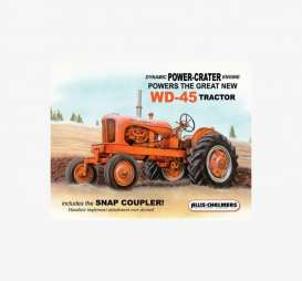 Tac Signs  - Tractor, Allis Chalmers blue/orange - Tac Signs - D1167 - tacD1167 | Toms Modelautos