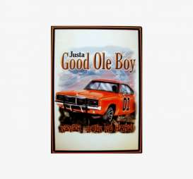 Tac Signs  - Chevrolet, Dixie brown/red/various - Tac Signs - DO42 - tacDO42 | Toms Modelautos