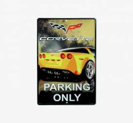 Tac Signs  - Chevrolet yellow/black - Tac Signs - MC30137 - tacMC30137 | Toms Modelautos