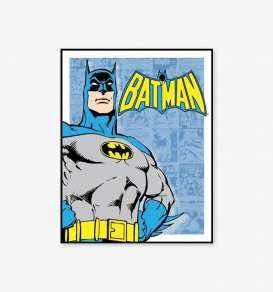 Tac Signs  - Cartoons, Batman blue/yellow - Tac Signs - D1401 - tacD1401 | Toms Modelautos