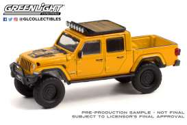 Jeep  - Gladiator 2020 yellow - 1:64 - GreenLight - 35210D - gl35210D | Toms Modelautos