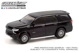 Chevrolet  - Tahoe 2020 black - 1:64 - GreenLight - 35210E - gl35210E | Toms Modelautos