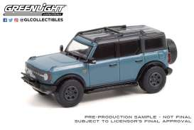 Ford  - Bronco 2021 blue - 1:64 - GreenLight - 35210F - gl35210F | Toms Modelautos