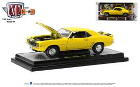 Chevrolet  - Camaro Z28 1969 yellow/black - 1:24 - M2 Machines - 40300-83 - M2-40300-83A | Toms Modelautos
