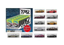 Assortment/ Mix  - various - 1:64 - Aoshima - 10926 - abk10926 | Toms Modelautos