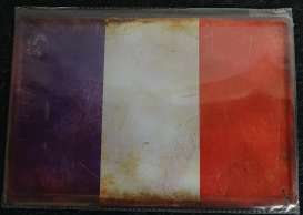 Tac Signs  - France Flag blue/white/red - Tac Signs - TACMk3D08 - TACMk3D08 | Toms Modelautos